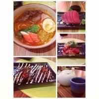 Photo taken at Sushi Kachi by Chintya P. on 11/25/2013