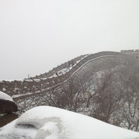 Photo taken at Great Wall at Mutianyu by Chas W. on 12/16/2012