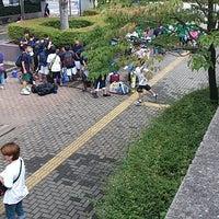 Photo taken at 草加市民体育館 by Foo 翔. on 8/23/2013