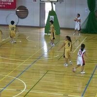 Photo taken at 草加市民体育館 by Foo 翔. on 8/23/2014