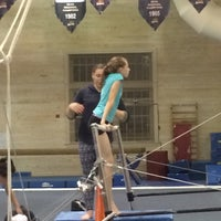 Photo taken at Gladys Valley Gymnastics Center by Cathy F. on 11/14/2014