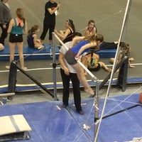 Photo taken at Gladys Valley Gymnastics Center by Cathy F. on 1/26/2016