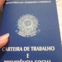 Photo taken at Ministério do Trabalho e Emprego by Talita M. on 5/29/2014