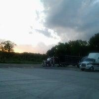Photo taken at Grovertown Truck Plaza by Dennis C. on 6/3/2014