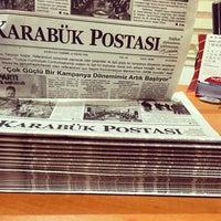 Photo taken at karabuk postasi gazetesi by Halo / K. on 2/28/2017