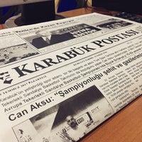 Photo taken at karabuk postasi gazetesi by Halo / K. on 7/3/2017