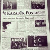 Photo taken at karabuk postasi gazetesi by Halo / K. on 4/15/2017