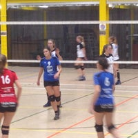 Photo taken at volleybal fit ham by Ann V. on 11/8/2014