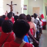 Photo taken at Paroquia Sao Jorge by Marcio d. on 4/23/2014