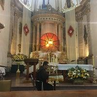 Photo taken at Templo de San Francisco by Liz L. on 4/14/2017