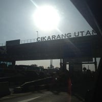 Photo taken at Gerbang Tol Cikarang Utama by Isnarny M. on 3/16/2013