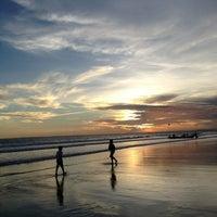 Photo taken at Pantai Pangandaran by Isnarny M. on 3/16/2013