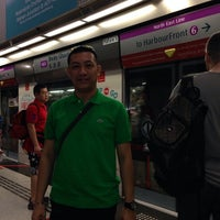 Photo taken at Taxi Stand @ VivoCity by Mike H. on 2/1/2014