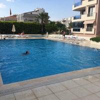 Photo taken at Oba Prestij Pool by TC Zerrin D. on 6/12/2017