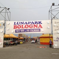Photo taken at Lunapark Parco Nord by Sedanur O. on 5/22/2014