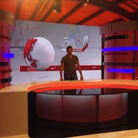 Photo taken at Elsharq TV Channel by MONTE C. on 8/15/2014
