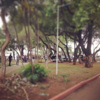 Photo taken at Praça Da Bíblia by Cíntia S. on 10/4/2013