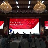 Photo taken at Kantor Pusat PT Pertamina (Persero) by abi_mihdar on 2/18/2016