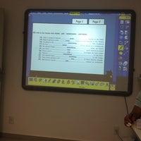 Photo taken at BRASAS English Course by Camila C. on 3/20/2014