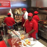 Photo taken at Five Guys by Mark S. on 8/15/2014