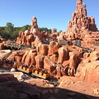 Photo taken at Big Thunder Mountain Railroad by Adriana R. on 3/2/2013