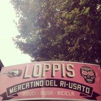Photo taken at LOPPIS - mercatino del ri-usato by Eros V. on 9/28/2013