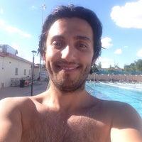 Photo taken at Aquatic Center by Ömer Faruk Ö. on 7/7/2015