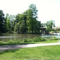 Photo taken at Parc de l'Orangerie by Laetitia B. on 6/2/2013