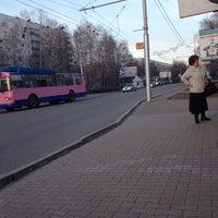 Photo taken at Аллея by Mari on 4/22/2014