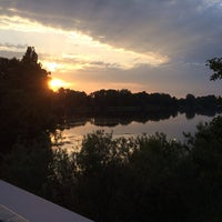 Photo taken at Vechtesee by Didem S. on 6/10/2014