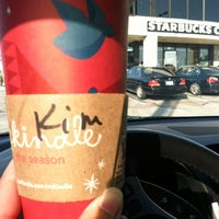 Photo taken at Starbucks by Kim F. on 11/4/2012