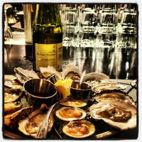 Photo taken at Rappahanock Oyster Bar by Meagan O. on 2/15/2013