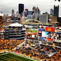 Photo taken at Heinz Field by Meagan O. on 10/28/2012