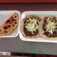 Photo taken at Tacos de Cabeza Chino Mario by Alberto L. on 12/17/2014
