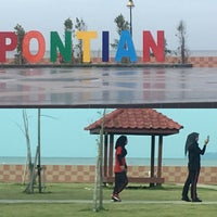 Photo taken at Pontian Sea Side by Mohd Fairus A. on 2/4/2017