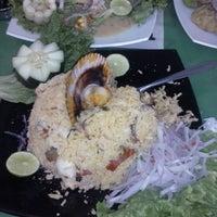 "Photo taken at Restaurant Cevicheria ""Puerto Sabor"" by Angel R. on 11/1/2014"