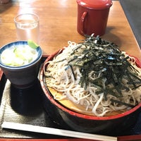 Photo taken at そば処 巴屋 by ハッチ on 6/28/2017