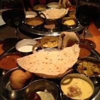 Photo taken at Bhojan Vegetarian Restaurant by Robin S. on 11/18/2012