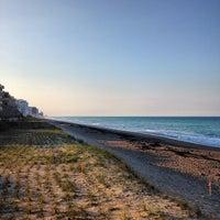 Photo taken at Jensen Beach, FL by Chris G. on 4/23/2014