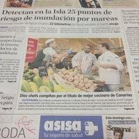 Photo taken at Diario de Avisos by salvadorsuarez on 10/18/2013