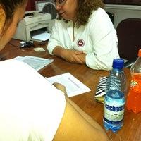 Photo taken at Notaria Juan Luis Saiz Del Campo by Pamela B. on 11/6/2012