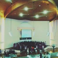 Photo taken at Igreja Adventista Do Sétimo Dia Do IACS by Letícia P. on 7/5/2014