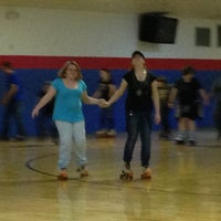 Photo taken at Rainbow Roller Rink by Melissa L. on 2/16/2013