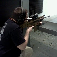 Photo taken at West Coast Armory Indoor Range by Lavone S. on 2/26/2013