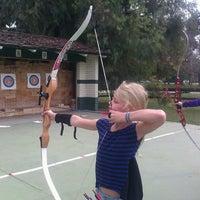 Photo taken at El Dorado Park Archery Range by Megan E. on 2/21/2015
