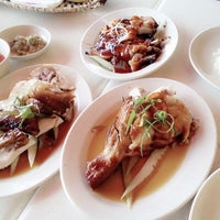 Photo taken at The Chicken Rice Shop by Raff on 6/1/2014