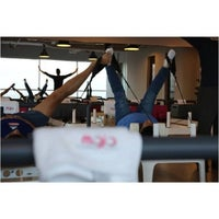 Photo taken at Mojo Reformer Pilates by Margie F. on 4/24/2014