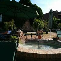 Photo taken at Geniesserhof Haimer - Hotel Garni & Weingut by Karin P. on 6/28/2014