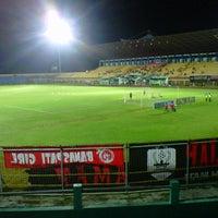 Photo taken at Gelora Bumi Kartini Stadium by Yoga Bagus Irnanda •. on 6/6/2013