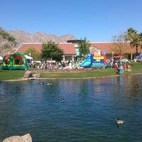 Photo taken at La Quinta Civic Center Park by Kel Kel P. on 4/5/2014